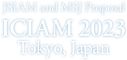 JSIAM and MSJ proposal ICIAM  2023 to Tokyo
